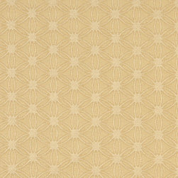 Gold Small Scale Flower Woven Matelasse Upholstery Grade Fabric By The Yard - This material is great for indoor upholstery applications. This Matelasse is rated heavy duty, and is upholstery weight. It is woven for enhanced appearance.
