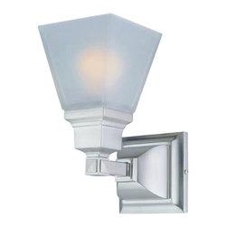 DVI LIghting - Dvi Lighting DVP7601NI One Light Bathroom Vanity, Wall Sconce - DVI Lighting DVP7601NI One Light Bathroom Vanity, wall Sconce