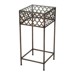 Sterling Lighting - Sterling Lighting Cheadle-Moorish Pattern Accent Table - Sterling Lighting Cheadle-Moorish Pattern Accent Table 138-029