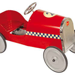 Beanpatch & Co. - Baghera Monaco Pedal Car - Big dreams are happening with this little cruiser. Unleash the adventurer in your little one for the long haul. The Baghera Monaco Pedal Car has a sturdy design, rubber tires and an adjustable pedals to grow with your little driver.