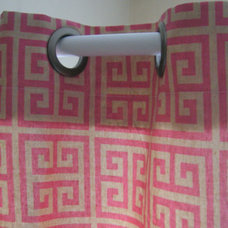 Contemporary Shower Curtains by Etsy