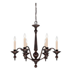 Savoy House Lighting - Savoy House Lighting 1-1726-6-13 Sutton Place Traditional Classic Chandelier - Sutton Place has the look of traditional fixtures with a little modern flair. The English Bronze finish and classic design make this group flawless.