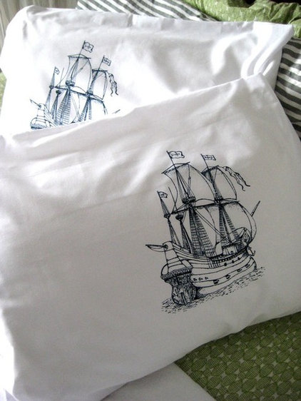 Eclectic Bed Pillows And Pillowcases by Etsy