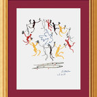 """Dance of Youth"" Framed Print by Pablo Picasso"