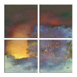 Franklin Arts - Abstract Tree Canvas Artwork - TITLE: NARRATIVE