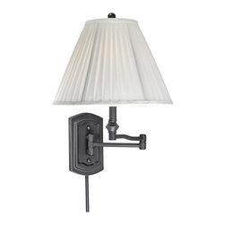 Vaxcel - Vaxcel SW-WLS002OR Swing Arm Wall Light Oil Rubbed Bronze - Vaxcel SW-WLS002OR Swing Arm Wall Light Oil Rubbed Bronze