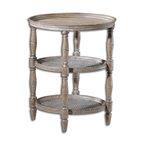 Uttermost - Kendellen Antique Accent Table - Kendellen Antique Accent Table