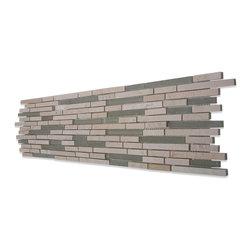GlassTileStore - Sample-Stanza Crema Marfil Marble Tile - Sample-Stanza Crema Marfil Marble Pattern 1/4 Sample  Please note you are purchasing 1/4 piece sample.   -Glass Tiles -