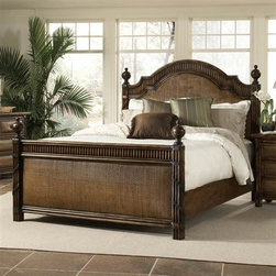 Catalina (Coconut Shell) - This rattan piece could work well in a room with a Mediterranean or more tropical theme while still, yet still maintains classic lines and a sense of luxurious weight.