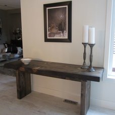 Contemporary Side Tables And Accent Tables by Urban Tree Salvage