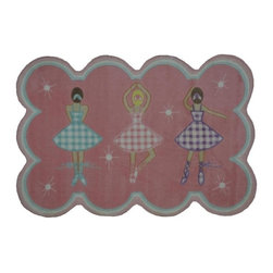 Fun Rugs - Gingham Dance Kids Multicolor Rug - Your child's room is a natural extension of them. Add these innovative designs from LA Rug to spruce up any child's decor.