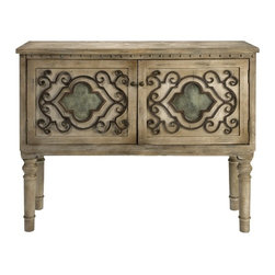 IMAX CORPORATION - Ermosa Wood Console w/ Iron Doors - Ermosa Wood Console w/ Iron Doors. Find home furnishings, decor, and accessories from Posh Urban Furnishings. Beautiful, stylish furniture and decor that will brighten your home instantly. Shop modern, traditional, vintage, and world designs.