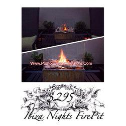Ibiza Nights Modern FirePit - Ibiza Nights Modern FirePit