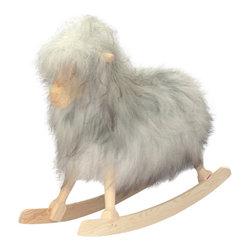 Rocking Sheep by Povl Kjer, Icelandic Grey - Handmade in Denmark