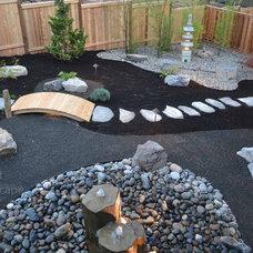Asian  by Lewis Landscape Services, Inc.