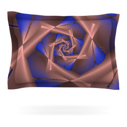 """Kess InHouse - Michael Sussna """"Vistica's Vista"""" Brown Pillow Sham (Cotton, 30"""" x 20"""") - Pairing your already chic duvet cover with playful pillow shams is the perfect way to tie your bedroom together. There are endless possibilities to feed your artistic palette with these imaginative pillow shams. It will looks so elegant you won't want ruin the masterpiece you have created when you go to bed. Not only are these pillow shams nice to look at they are also made from a high quality cotton blend. They are so soft that they will elevate your sleep up to level that is beyond Cloud 9. We always print our goods with the highest quality printing process in order to maintain the integrity of the art that you are adeptly displaying. This means that you won't have to worry about your art fading or your sham loosing it's freshness."""