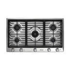 "Dacor Distinctive 36"" Gas Cooktop Stainless Steel 