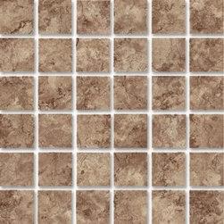 Eleganza - Eleganza - Travertine Mosaic (2X2) 12x12 sheet - TR1212 - Traditional-Classic Collection