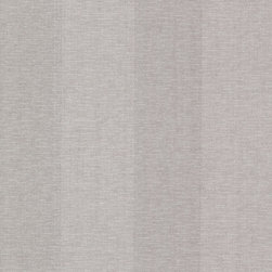 Brewster Home Fashions - Amalfi Mauve Linen Stripe Wallpaper Bolt - With delicate nuances of a silvery mauve hue this wide stripe wallpaper has a sophisticated appeal in decor.
