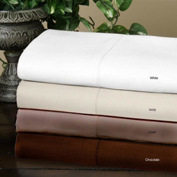 None - Luxury Cotton Rich 800 Thread Count 6-Piece Sheet Set - This 800-thread count sheet set lets you to sleep each night in comfort. It is wrinkle resistant and machine washable,which makes it easy to care for,and it features a deep-pocket fitted sheet,which keeps it secure on a variety of mattresses.