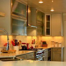Contemporary Kitchen by Quality Craftsman, Inc
