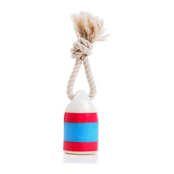 waggo - Floats My Boat Buoy Dog Toy, Fuchsia - Bring a little nautical fun into your pup's life! Our Floats my Boat Buoy Toy is a fun way to play with your furry first mate. Made of durable, non-toxic rubber, this toy floats in water for fun in the ocean, lake or pool. Available in bright colors, there is sure of be a buoy that strikes the fancy of any salty paw!