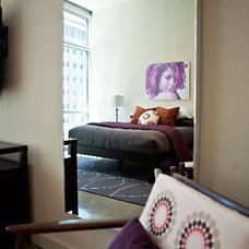 Contemporary Bedroom by Abbe Fenimore Studio Ten 25