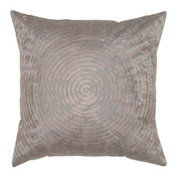 Rizzy Home - Rizzy Home Circle Splatter Decorative Throw Pillow - T05468 - Shop for Pillowcases and Shams from Hayneedle.com! Make your room a stand-out by adding the Rizzy Home Circle Splatter Decorative Throw Pillow to your sofa or bedding ensemble. This bold accent pillow has a polyester slub cover and comes in your choice of vivid colors. Circles splatters and embroidery work make it funky. This pillow has a hidden zipper and removable polyester insert. Dry clean only.About Rizzy HomeRizwan Ansari and his brother Shamsu come from a family of rug artisans in India. Their design color and production skills have been passed from generation to generation. Known for meticulously crafted handmade wool rugs and quality textiles the Ansari family has built a flourishing home-fashion business from state-of-the-art facilities in India. In 2007 they established a rug-and-textiles distribution center in Calhoun Georgia. With more than 100 000 square feet of warehouse space the U.S. facility allows the company to further build on its reputation for excellence artistry and innovation. Their products include a wide selection of handmade and machine-made rugs as well as designer bed linens duvet sets quilts decorative pillows table linens and more. The family business prides itself on outstanding customer service a variety of price points and an array of designs and weaving techniques.