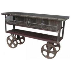 Eclectic Bar Carts Eclectic Bar Carts