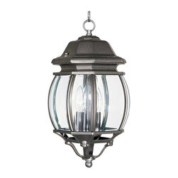 Maxim Lighting - Maxim Crown Hill 3-Light Outdoor Hanging Lantern Rust Patina - 1036RP - Crown Hill is a Traditional, early American style collection from Maxim Lighting Interior, available in multiple finishes.