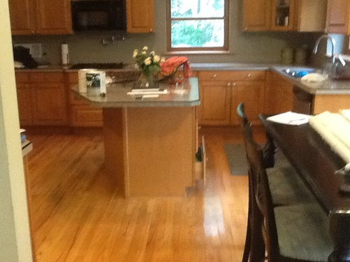 Can You Restain Maple Kitchen Cabinets A Different Color