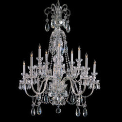 Crystorama Lighting Group - Traditional Crystal Swarovski Strass Crystal Polished Chrome Five-Light Chandeli - Traditional crystal chandeliers are classic timeless and elegant. Crystorama's opulent glass arm chandeliers are nothing short of spectacular. This collection is offered in a variety of crystal grades to fit any budget. For a touch of class order this collection in Gold for traditionalists or in Chrome to match your contemporary or transitional decor.  -Primary Material: Steel  -Crystal: Swarovski Strass  -Chain or Rod Length: 72inches  -Wire Length: 120inches Crystorama Lighting Group - 5020-CH-CL-S