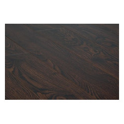 Toklo - Toklo Laminate - 15mm Collection - [13.2 sq ft/box] - Roasted Espresso -The Toklo 15mm Collection offers a wide array of unique colors with a textured surface that will enhance any interior. Style meets durability with this laminate flooring _ the core is made of high-density wood fibre that is extremely dent and moisture resistant. This floor is AC4 rated which is suitable for any residential use as well as commercial areas, CARB-ATCM - Phase 1 compliant, and HDF-core laminate.     The easy-to-install click lock locking system makes installation a breeze, combine this with a 25 Year Residential warranty and Toklo is a clear choice for your laminate floors.
