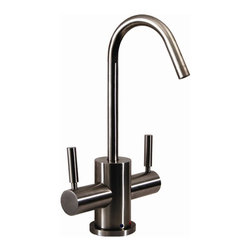 Whitehaus - Forever Hot 4 in. Instant Water Dispenser Fau - Color: Polished ChromePictured in solid stainless steel. Gooseneck spout. Self closing hot water handle. Fits counter tops up to 2.5 in.. Complements the FX navigator series. Can be used with wh-tank only. 4 in. W x 6.5 in. H (4 lbs.). Warranty