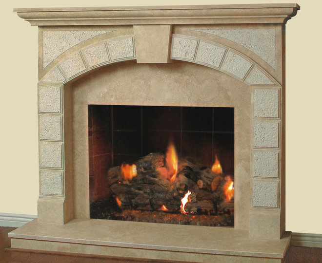 Traditional Fireplaces by Cornerstone Mantels & Fire