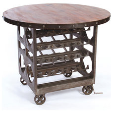 Traditional Kitchen Islands And Kitchen Carts by Kathy Kuo Home
