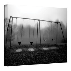 ArtWall - Steven Ainsworth 'Silent Swings' Gallery-Wrapped Canvas - Artist: Steven Ainsworth Title: Silent Swings Product type: Gallery-wrapped canvas