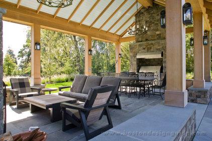 Farmhouse Porch by Boston Design Guide