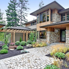 Contemporary Exterior by Architectural Designs