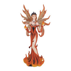 GSC - Fairy Collection Red Pixie Desk Decoration Figurine Collectible Decor - This gorgeous Fairy Collection Red Pixie Desk Decoration Figurine Collectible Decor has the finest details and highest quality you will find anywhere! Fairy Collection Red Pixie Desk Decoration Figurine Collectible Decor is truly remarkable.