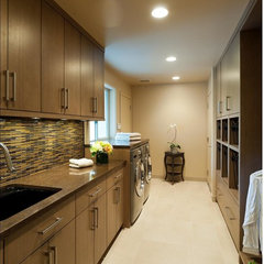 contemporary laundry room by Solo Design, LLC