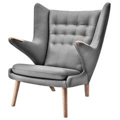 modern armchairs by Danish Design Store