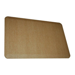 Rhino Anti-Fatigue Mats - Comfort Mats: Rhino Anti-Fatigue Mats Safety Supplies Housewares Sonora Broom - Shop for Flooring at The Home Depot. Our Comfort Craft Housewares Premium line was designed to bring commercial grade comfort to the home. These mats come in 80 different styles and colors to match any existing color schemes in your home. Our Housewares line has set a new standard for high end kitchen matting. The days of crinkled wrinkled and rolled up mats that constantly require straightening and cause trip hazards are over. This mat will stay where you put it exactly like you want. No sliding or wrinkling. Color: Broom Brown.