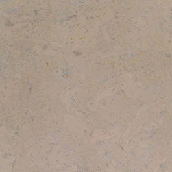 Colored Cork Tiles in Nugget Texture - Whitewashed colored Nugget textured cork tiles for flooring from Globus Cork. 25 shapes. Made in the USA
