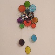 Modern Wall Clocks by Etsy