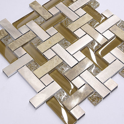 Modern Mosaic Tile by Backsplash