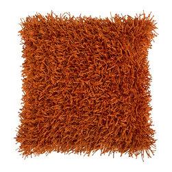 "Surya - Surya 22 x 22 Decorative Pillow, Burnt Orange (FA059-2222P) - Surya FA059-2222P 22"" x 22"" Decorative Pillow, Burnt Orange"