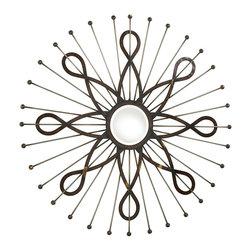 Cyan Design - Cyan Design 04136 Zeppelin Round Mirror - Cyan Design 04136 Zeppelin Round Mirror
