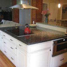 Traditional Kitchen Islands And Kitchen Carts by peoples kitchens