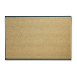 Quartet - Quartet 72 x 48 in. Cork Prestige Bulletin Board - QRTB247G - Shop for Bulletin Boards from Hayneedle.com! Because of a flexible mounting system the Quartet 72 x 48 in. Cork Prestige Bulletin Board can be mounted on fabric and dry walls. Built with a moisture-reducing dense fiberboard backing this board can resist warping over time. Made in the USA this board is durable and strong. It comes with quick clips which can hold up important documents. Featuring a self-healing cork surface it can hide the pinholes and can also resist crumbling or fading.About United StationersDedicated to making life in the office more organized efficient and easier United Stationers offers a wide variety of storage and organizational solutions for any business setting. With premium products specifically designed with the modern office in mind we're certain you will find the solution you are looking for.From rolling file carts to stationary wall files every product in the United Stations line is designed with one simple goal: to improve office efficiency. In turn you will find increased productivity happier more organized employees and an office setting that simply runs better with the ultimate goal of increasing bottom line profits.